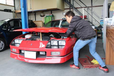 旧車など大事にしている愛車のヘコミ修理はデントリペア!