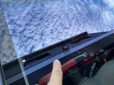 コートテクトのフロントガラスもウインドリペアで修理可能!