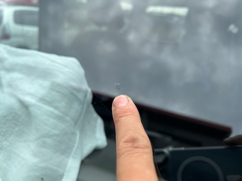 DIYのフロントガラスのヒビ修理失敗!補修できます!