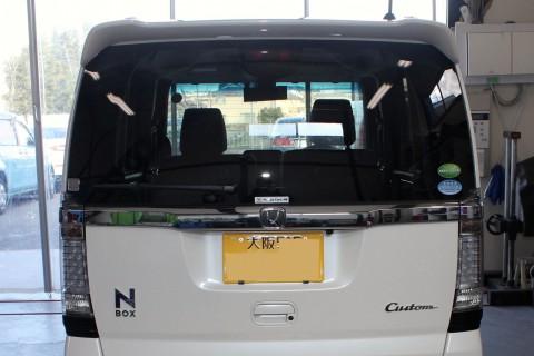 N-BOX カーフィルム デントスマイル