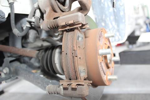 ワゴンR ブレーキパッド 交換