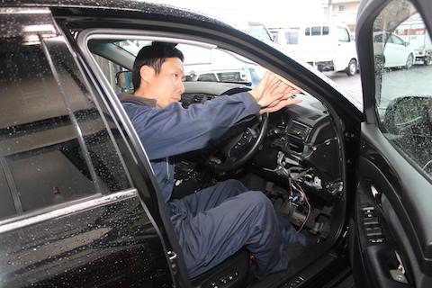 ドライブレコーダー レーダー 取付