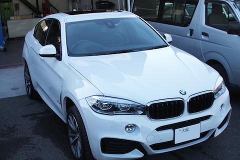 BMW X6 カーラッピング