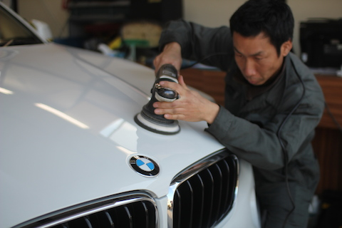 BMW X6 ガラスコーティング