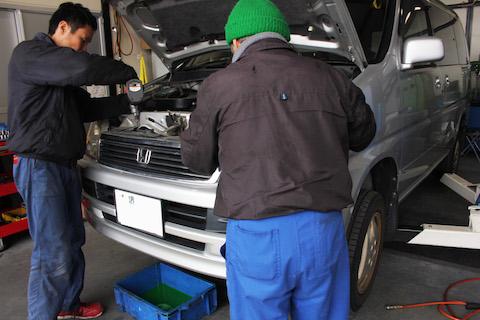 ステップワゴン ラジエーター 漏れ 交換