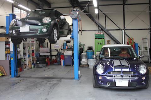 BMW ミニ 車検