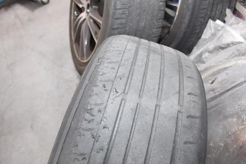 エスティマ 車検 フロントガラス タイヤ 交換