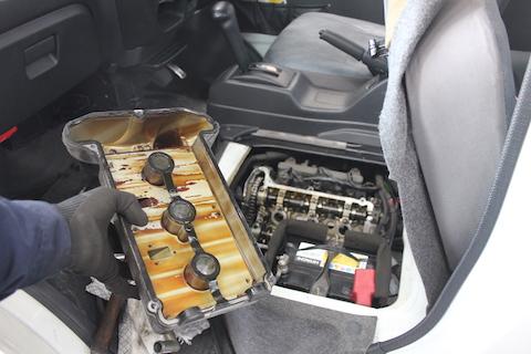 エブリィ 車検 整備 プラグ タペットパッキン