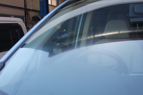 ガラス ウロコ 水垢 ウォータースポット 除去 磨き