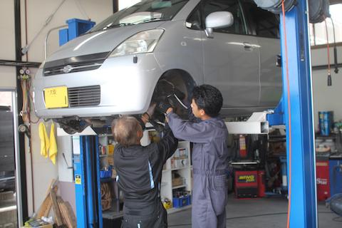 ドライブシャフトブーツ 交換 MRワゴン