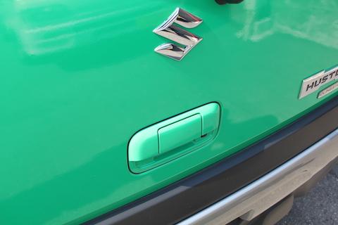 ハスラー フルラッピング グリーン 緑