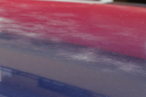 フィット ルーフ 塗装 経年劣化