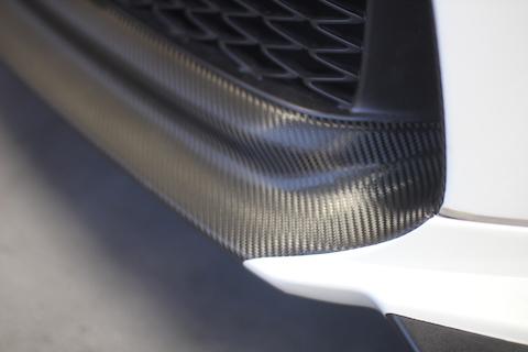 レクサス GS F スポーツ カーラッピング カーボンブラック スピンドル