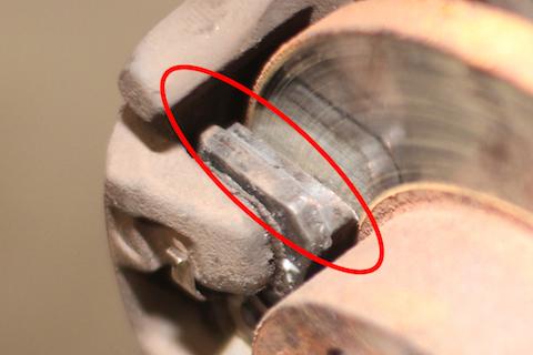 タント 車検 ブレーキパッド 交換