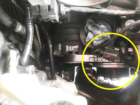 A1 スポーツバック ウォーターポンプ 交換