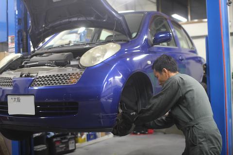 マーチ 車検 整備 修理