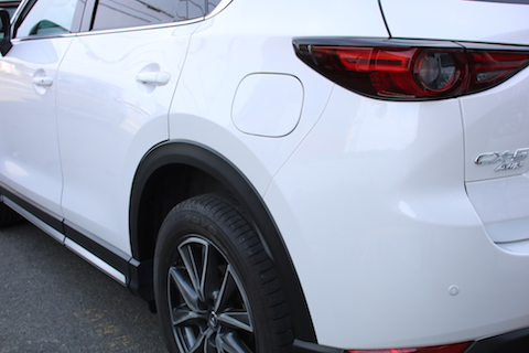CX-5 新車 傷 ヘコミ 修理 板金・塗装