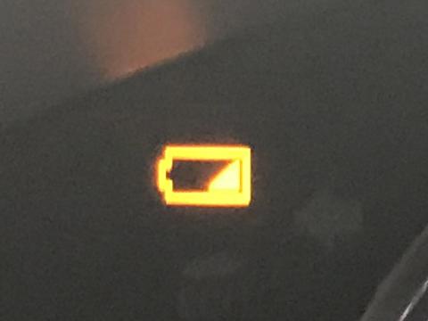スマートキー 電池 警告