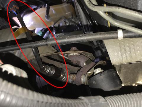 シエンタ o2センサー 交換 エンジンチェックランプ