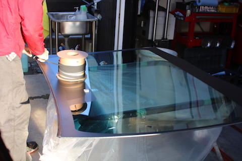 オデッセイ フロントガラス 交換 ドライブレコーダー
