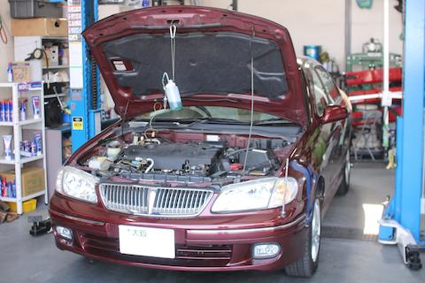 エンジン内の汚れをRECSとフラッシングで徹底洗浄!