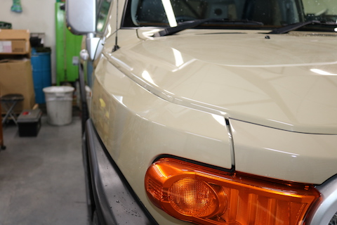 国産・輸入車、色んなフロントガラスの飛び石被害でも直します!