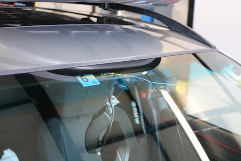 輸入車のフロントガラス、断熱ガラスもリーズナブル!
