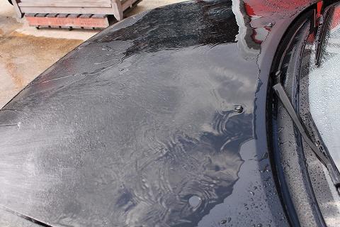 カーラッピング 洗車