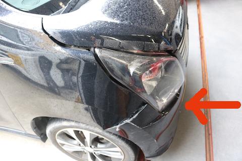 車の中古部品を使ってお財布にやさしい修理!