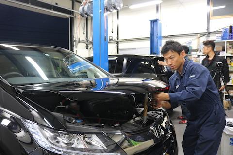 車両保険でヘコミ修理お任せください!
