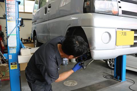 車検は、2年間安全に乗る為の整備