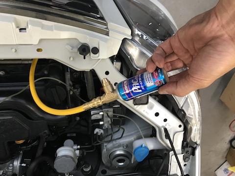 1時間でエンジン内やガソリン掃除、そしてエアコンの効き向上!