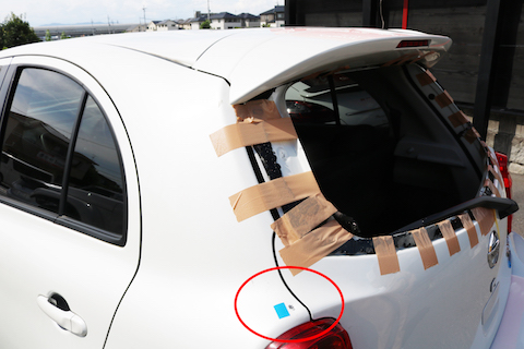 車の震災被害、最小限の負担で修理させて頂きます!