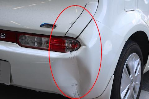 車をぶつけた!こすった!へこんだ!対処や修理お任せください!