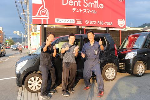 台風被害で車のガラス交換、最優先で受け入れします!
