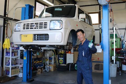 自動車の定期点検で見つけた異常、修理しなければ一大事!