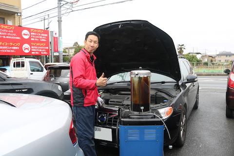 日本車・輸入車のオイル・フィルター交換もお任せください。