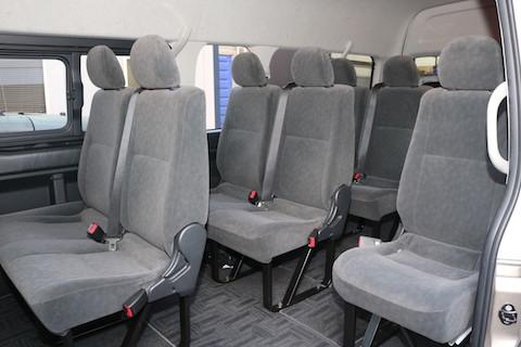 普通免許で最大10人乗りレンタカー、大家族で旅行がオススメ!