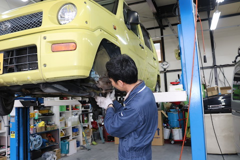 車検は車を安全に走行する為の整備!