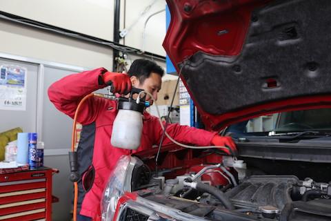 次の2年間を安全・安心を確保する為の車検整備!