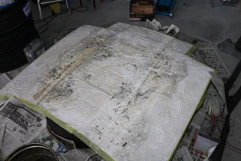 生産終了のフロントガラス、70スープラも特注で製造して交換!