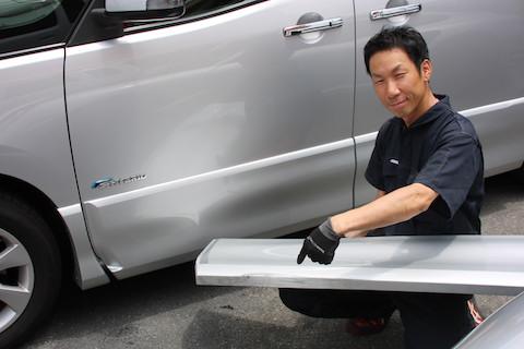 お客様にとって一番良い修理方法を自社施工でご用意!