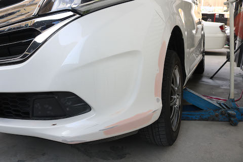 車のボディに擦り傷、交換するか?修理するか?良い方法を提供いたします!