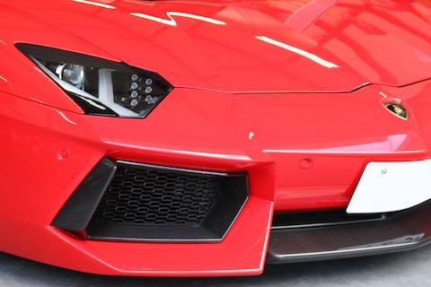 ランボルギーニ アベンタドールのカーラッピング!どんなお車もオンリーワンに変身