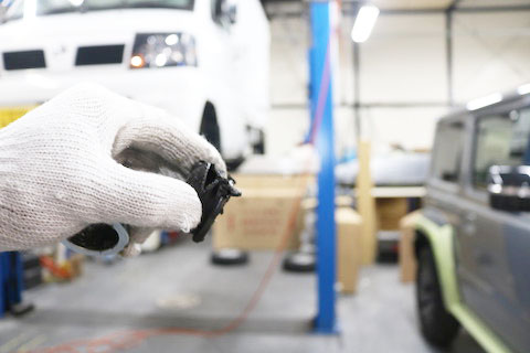 車は法令で定められた、重要保安部品という命を守る部分があります。