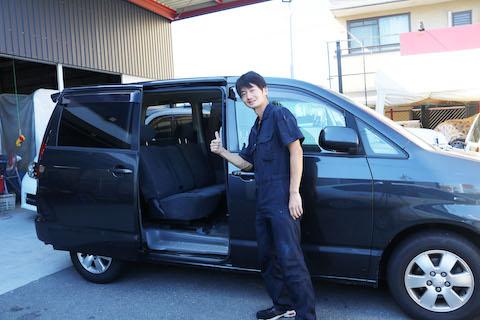 車のパワースライドドアが動かないトラブル修理、負担の少ない修理で解決!