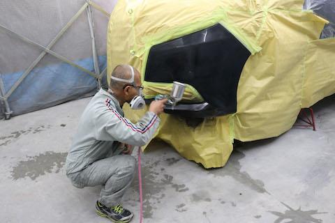 車のこすり傷、ヘコミは部品再生で費用削減!