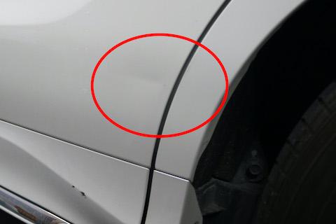 車に傷・ヘコミが出来てもこだわりの再生技術で綺麗に直します!