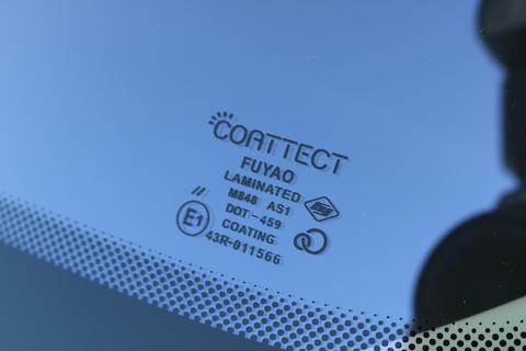 現行のBMWミニにもコートテクト対応してます!車両保険での交換も可能です!