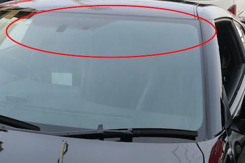 GTR R35のフロントガラス、約3万円でご用意が可能!しかもボカシをサービスで追加します!